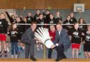 """Badmintonteam ist Gewinner des LEW-Wettbewerbs """"Leistung lohnt 2017"""""""