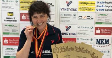 Elke Cramer holt sich das Triple   3-fache Deutsche Meisterin