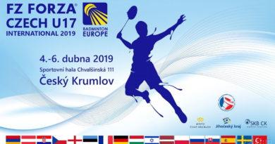 FZ FORZA Czech U17 International 2019 in Český Krumlov